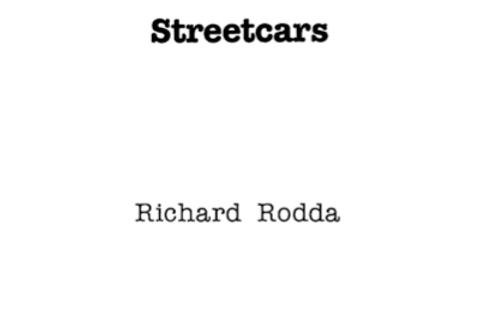 Vol.33 No.1 Streetcars (Print Copy)