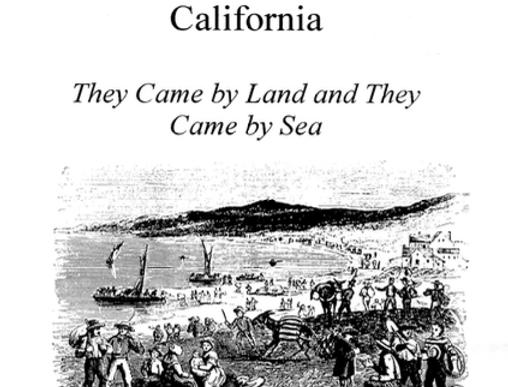 Vol.45 No.3 The 1849 Gold Rush to California (Print Copy)