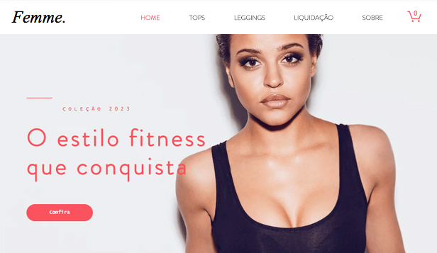 Ver todos os templates website templates – Moda fitness feminina