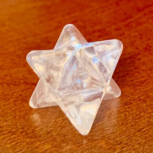 Quartz Crystal Merkaba