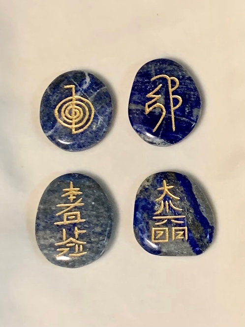 Sodalite Usui Reiki Symbol Set