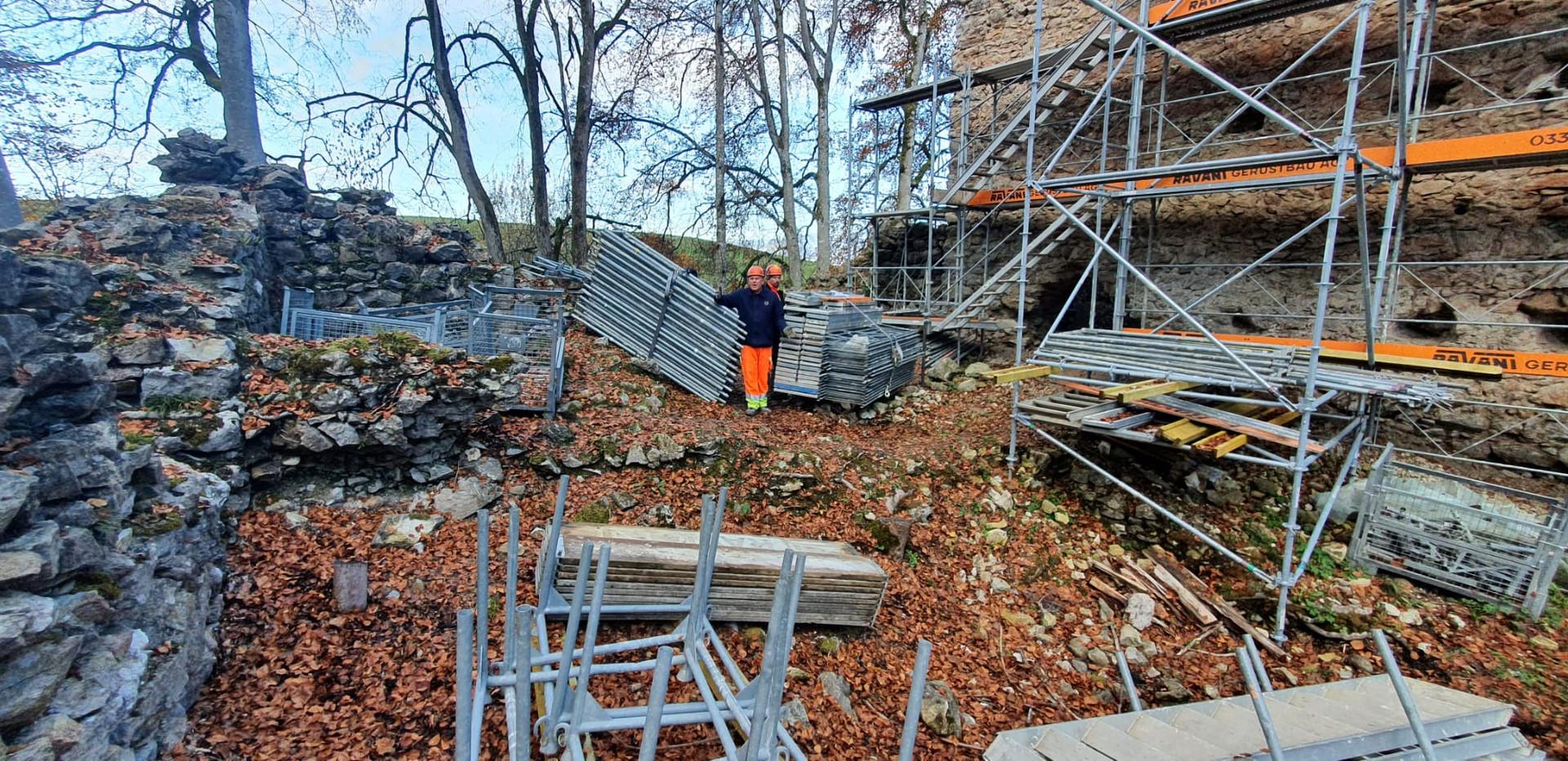 Ruine Jagdburg