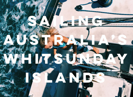 Sailing Australia's Whitsunday Islands