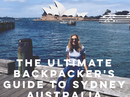 The Ultimate Backpacker's Guide to Sydney, Australia