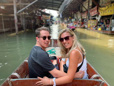 Visiting the Floating Markets and Railway Market in Bangkok