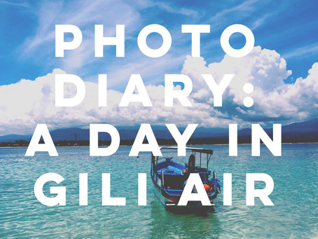 Photo Diary: A Day in Gili Air, Bali
