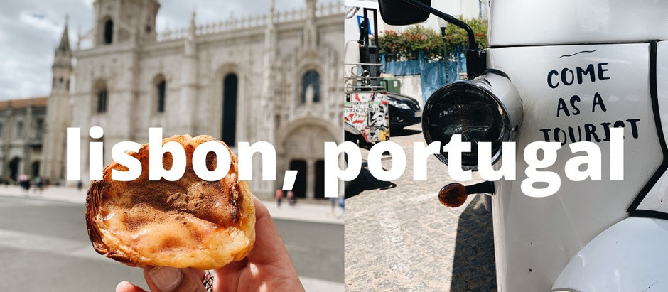 VIDEO: Exploring Lisbon, Portugal with My Mom!