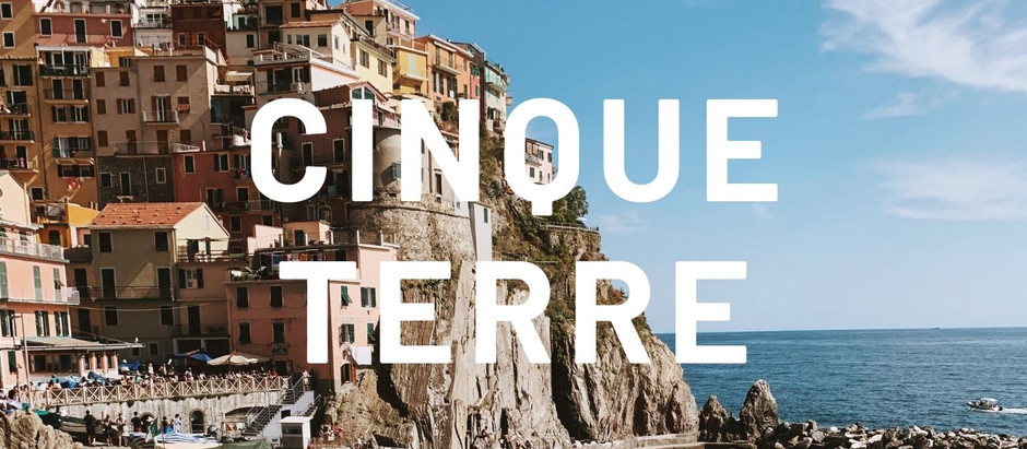 VIDEO: Cinque Terre Travel Vlog