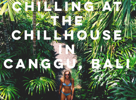 Chilling at The Chillhouse in Canggu, Bali!