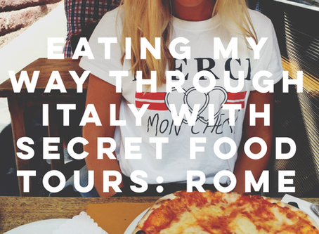 Eating my Way through Italy with Secret Food Tours: Rome
