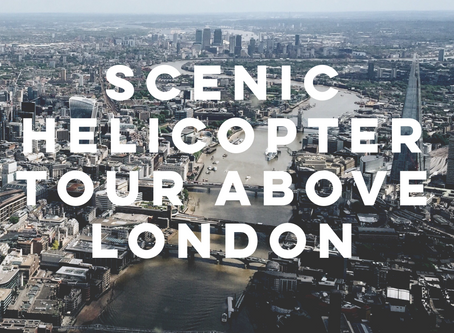 Scenic Helicopter Tour Above London