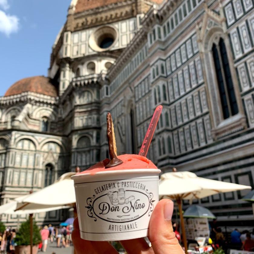 Gelato + Duomo = Florence Goals!
