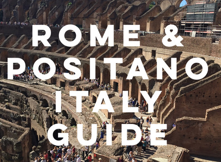 Italy Trip Itinerary: Rome & Positano Guide