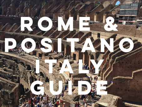 Italy Trip Itinerary: Rome & Positano Guide
