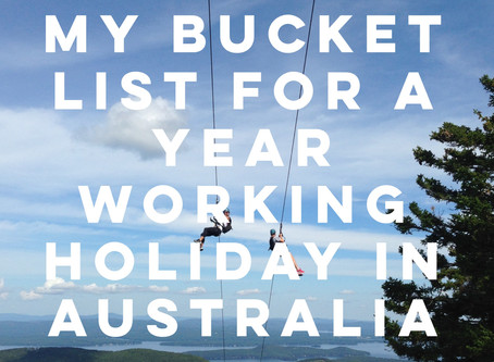 My World Travel Bucket List