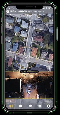 C8 Image- SkyWatch app on iPhone alongsi