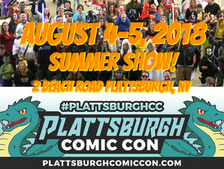Top 5 Reasons To Attend Plattsburgh Comic Con