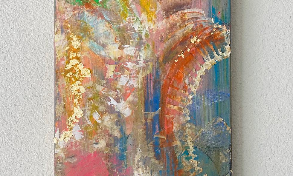 12x24Textured Acrylic on Canvas