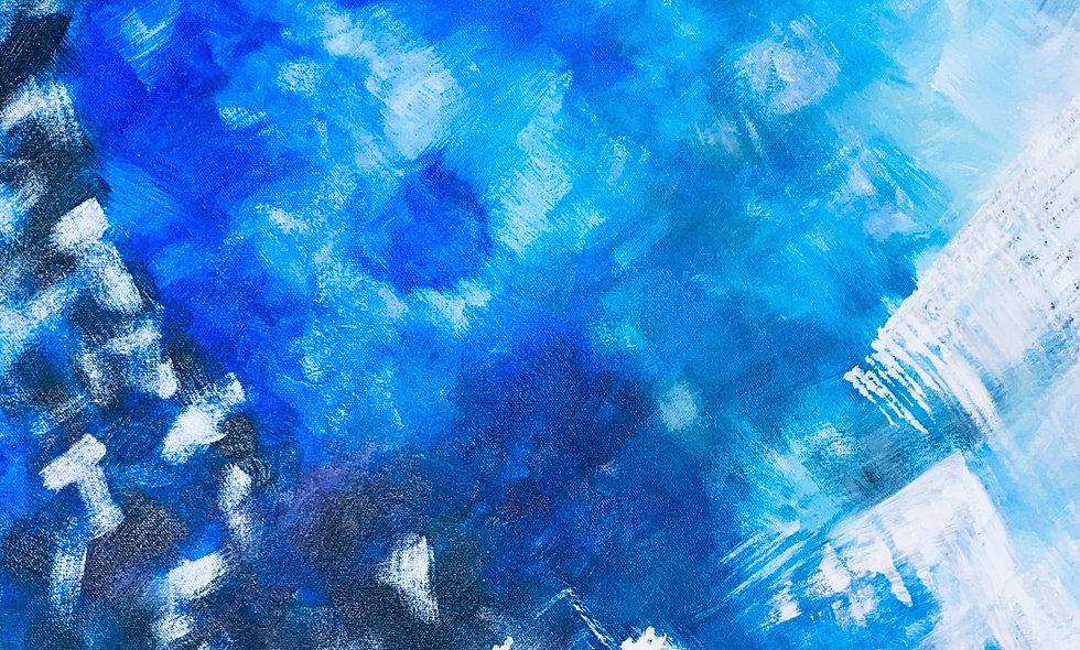 24X24 Textured acrylic on gallery canvas
