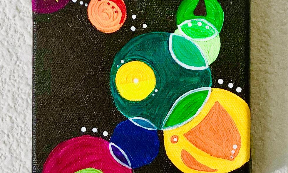 6x6 Acrylic on Canvas