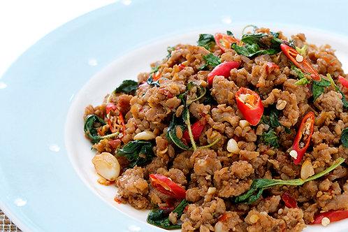 Pad KraPao (stir-fried sauce with thai basil leaves)