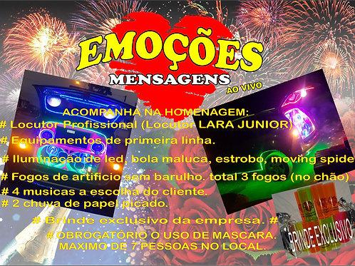Mensagem ao vivo Campo Magro