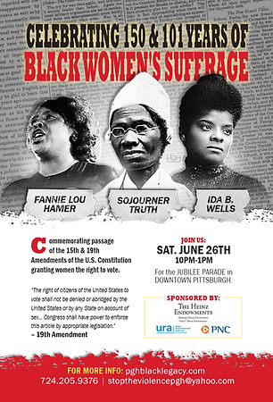 100 YEARS OF BLACK WOMENs SUFFRAGE - 202