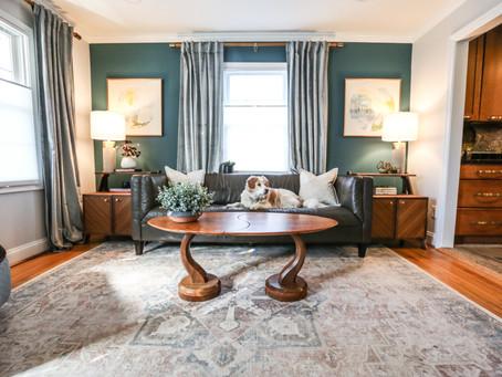Kristi and Gary's Cheerful Living Room