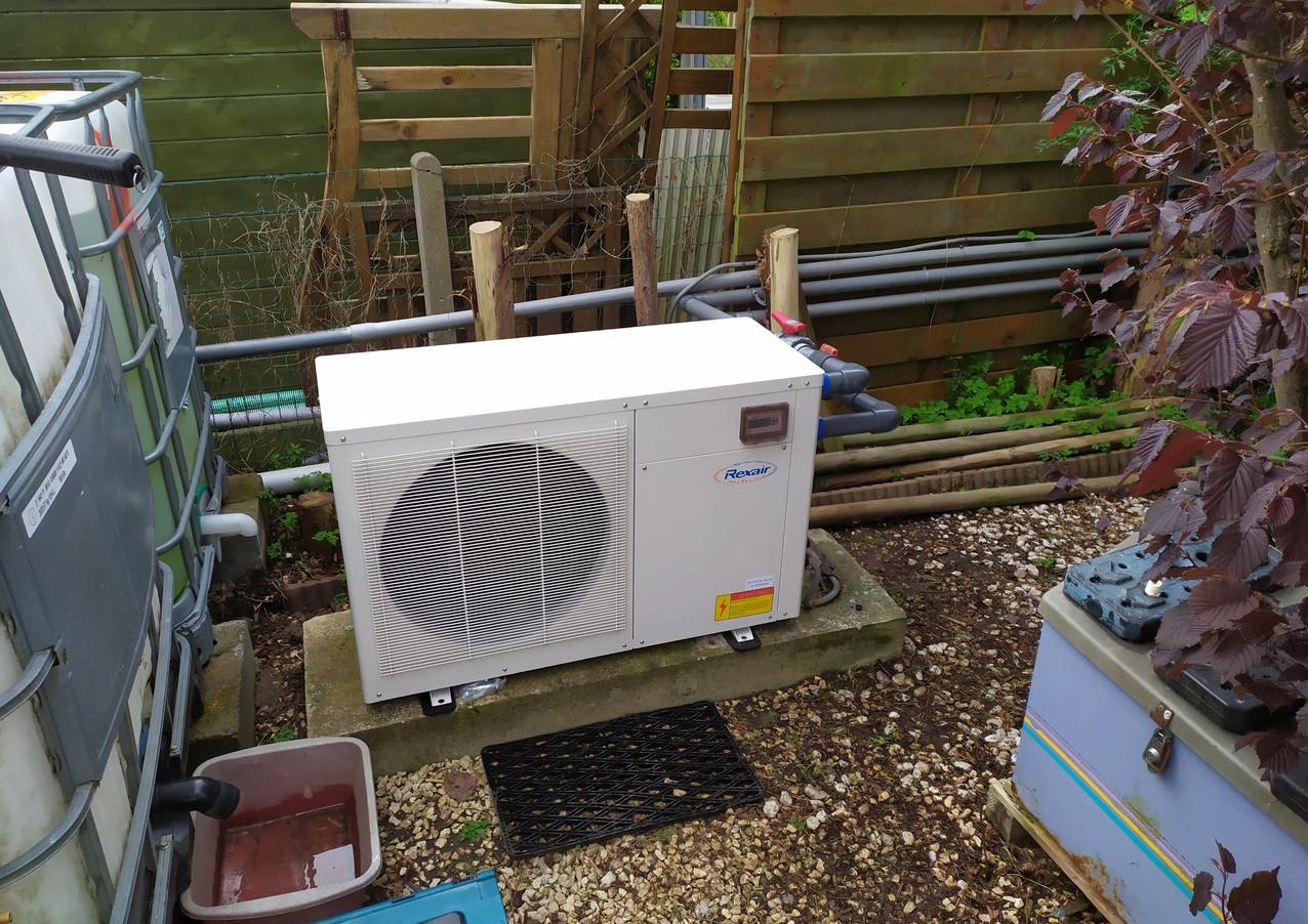 Nouvelle pompe à chaleur