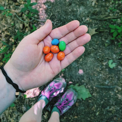trail snacks are important.