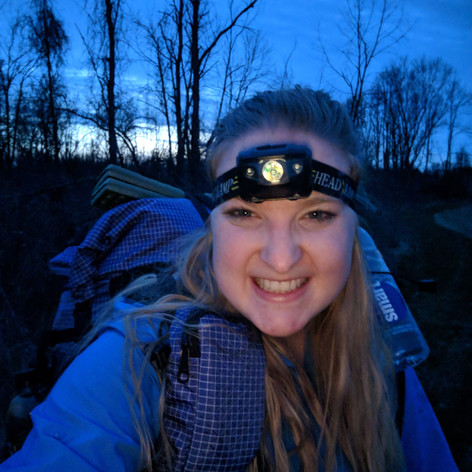 Night Hiked into camp