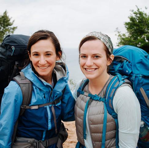 best hiking buddies.