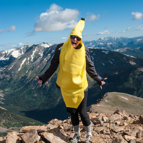 this summit was brought to you by the humble banana.