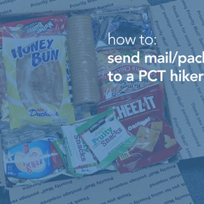 How to send mail/packages to me on the PCT