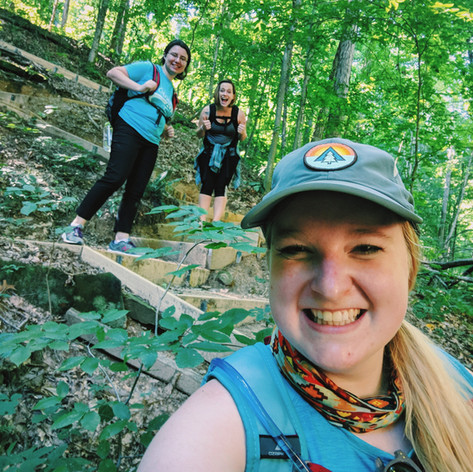 Glad to have two awesome hiking buddies!