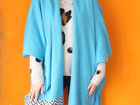 The new cardigan and poncho colourways are here!