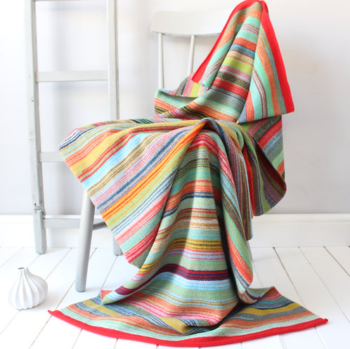 Bombay Knitted Lambswool Throw