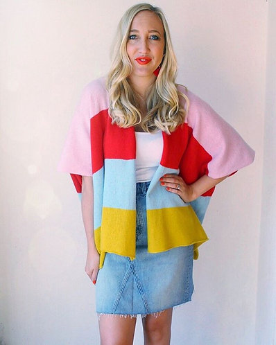 Popsicle Knitted Cardigan