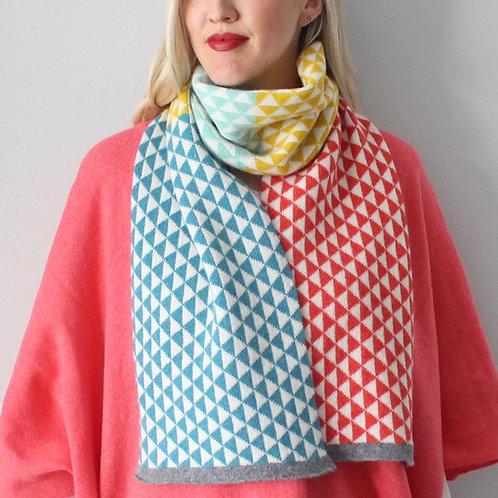 Skyla knitted scarf
