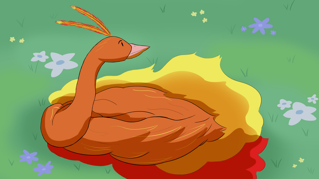 Startled Bird