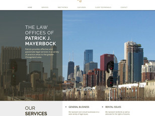 Site makeover is ruled a success for Mayerbock Law Offices