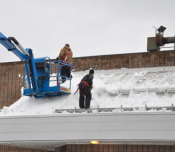 Snow Removal form Chicago Roofs and Downers Groves Roofs
