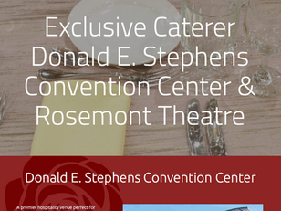 Serving up a delicious new website for Rosemont's exclusive caterer.