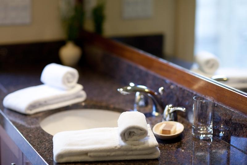 Beautiful Granite Bath Counter