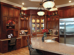 Burton Brown Kitchen Countertop