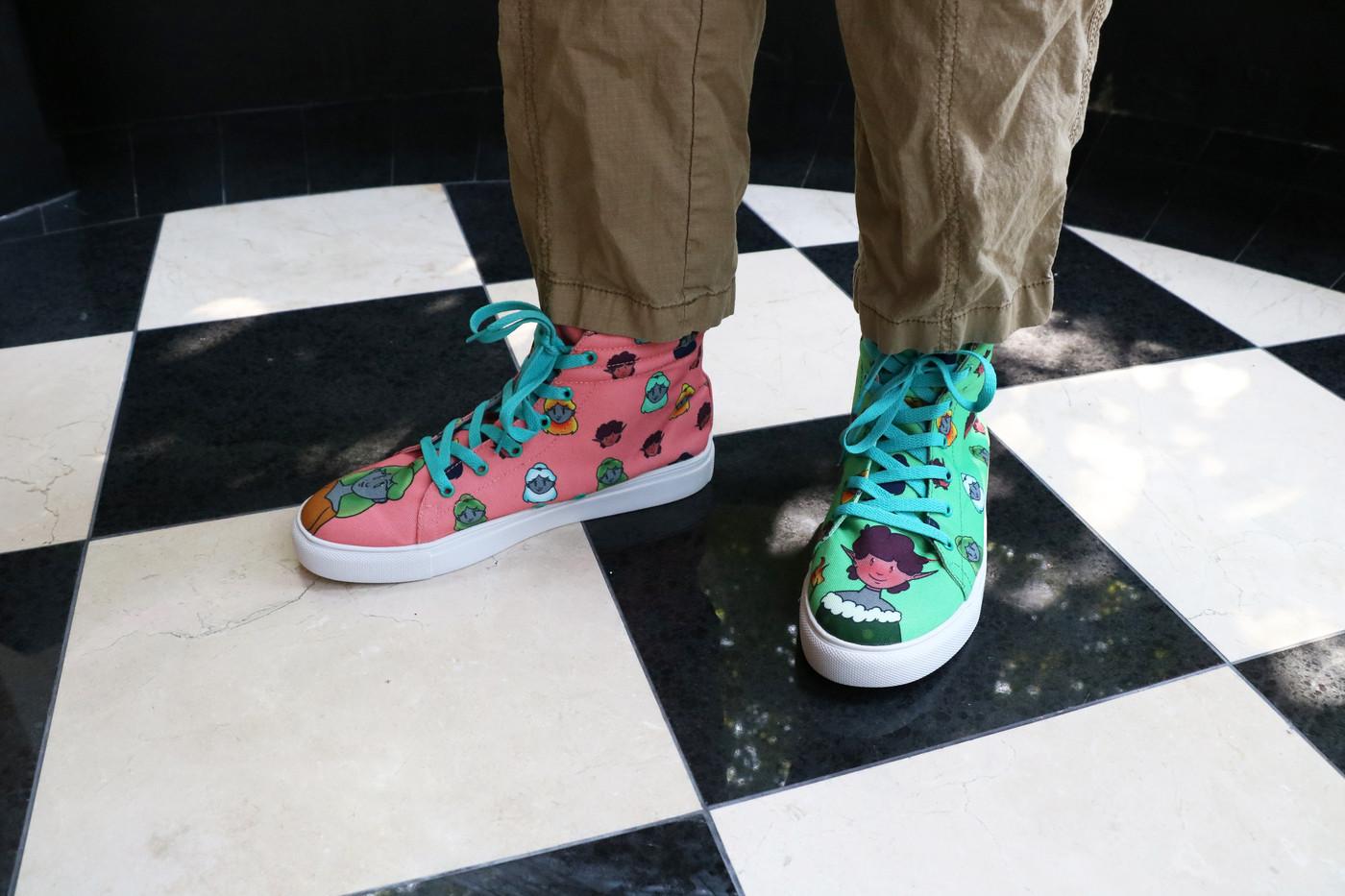 Earth + Fire: Terra and Aldin Shoe Set