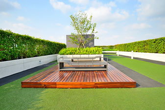 Energy savings green roof is like a park on top of your building