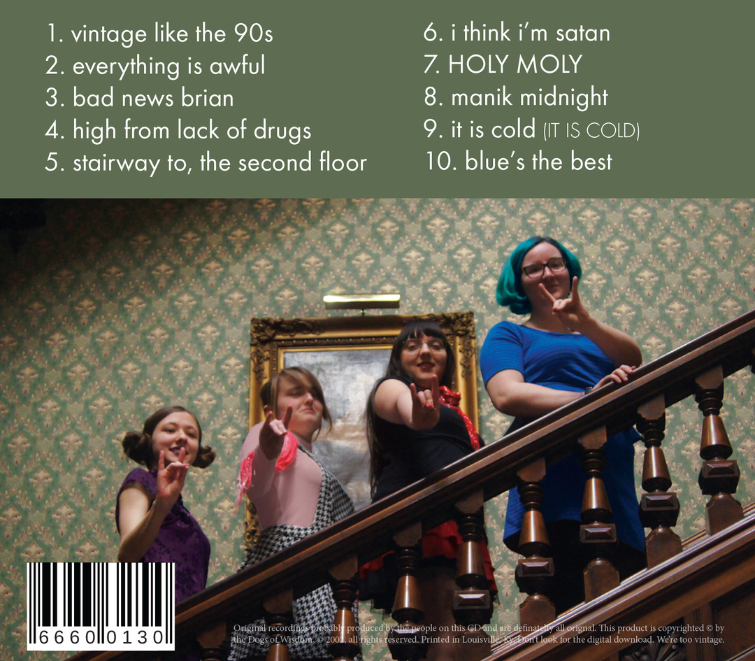 Dogs of Wisdom: Vintage from the 90s CD Back