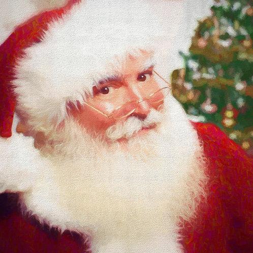 Santa's Frosty Face