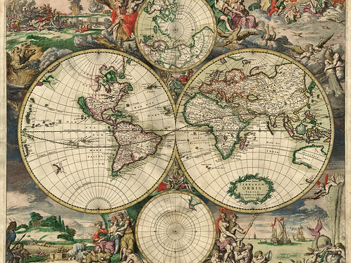 World Map of 1713